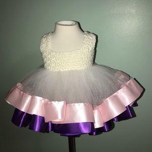 Handmade baby party dress
